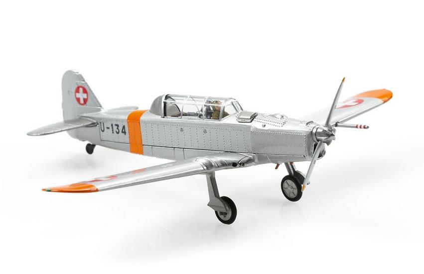ACE collectors edition Pilatus P-2-06 U-134 (1970) Métal 1:72
