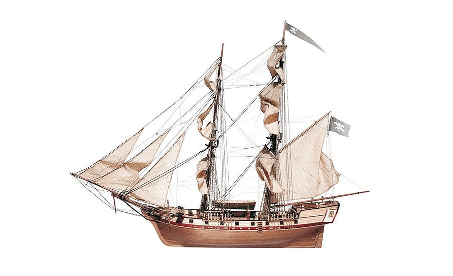 Maquette de bateau CORSAIRE en bois à construire de OCCRE 13600