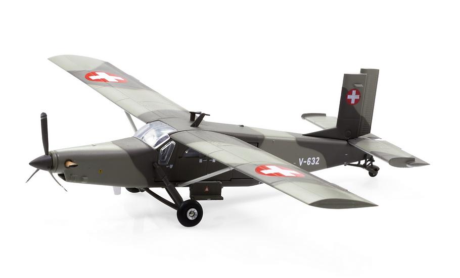 ACE collectors edition Pilatus PC-6 Turbo Porter V-632 1:72
