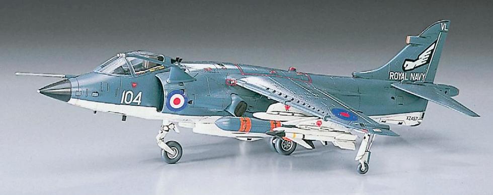 Hasegawa Sea Harrier FRS Mk.1 1/72