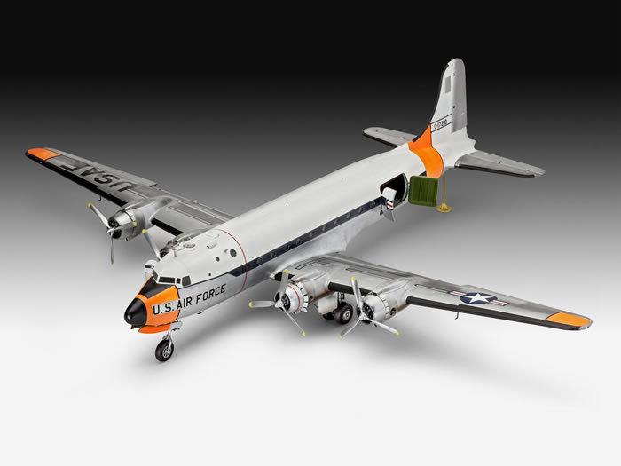 Revell DOUGLAS C-54D SKYMASTER 1/72