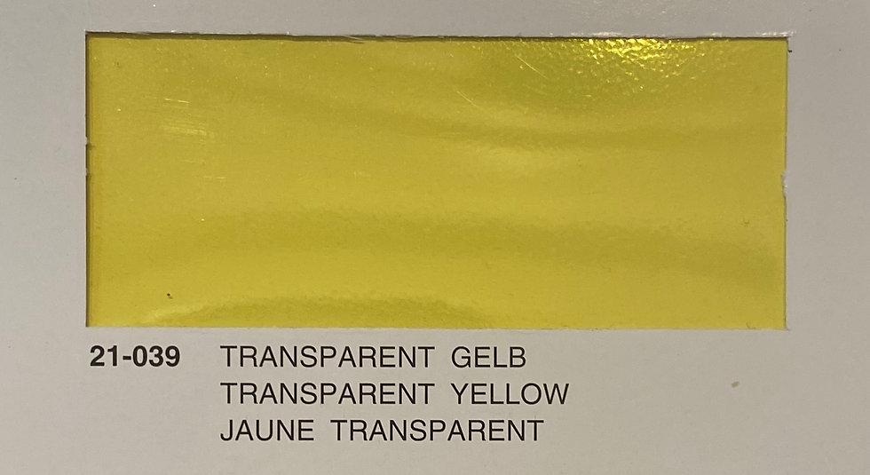 Oracover couleurs transparents jaune 21-039