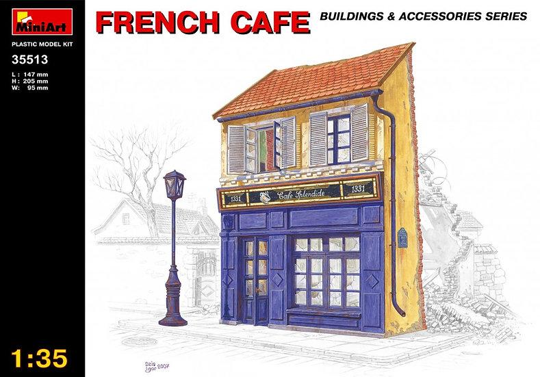 MiniArt FRANZÖSISCHES CAFE 1/35