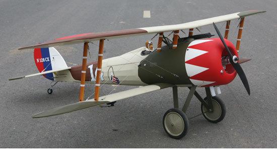 Avion Seagull Models Nieuport 28 EP-GP 20cc ARF