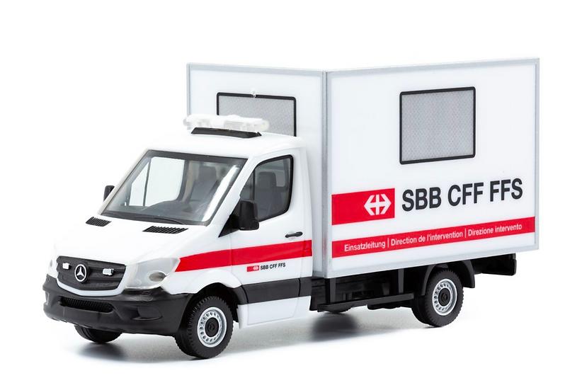 ACE collectors edition MB Sprinter 516 Cdi SBB en Plastique 1:87