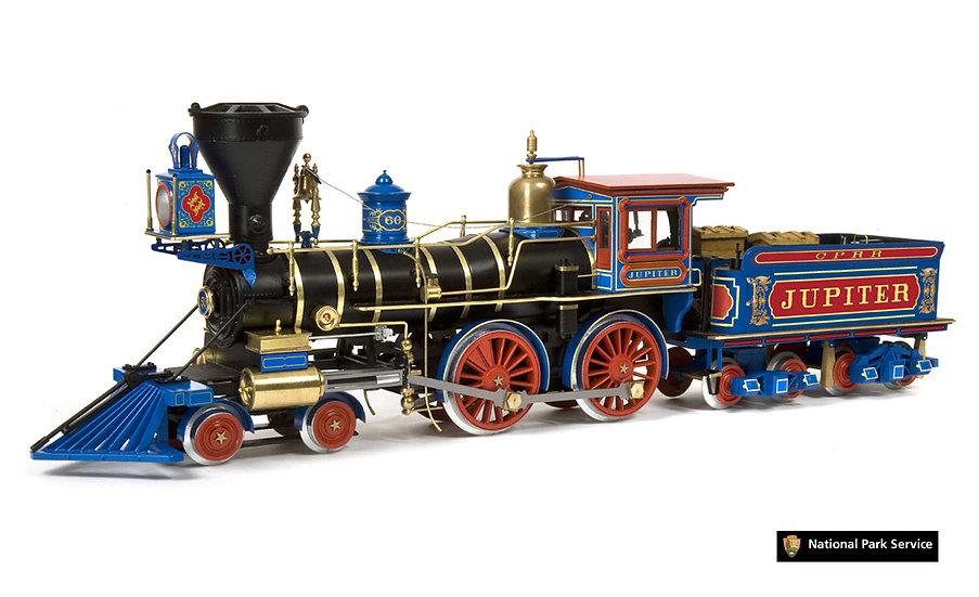 Maquette de locomotive à construire JUPITER de OCCRE 54007