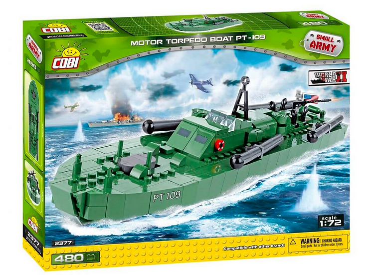 Cobi Motor Torpedo Boat PT-109