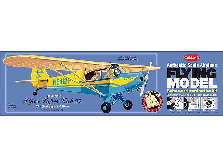 Maquette avion en bois Piper Super Cub