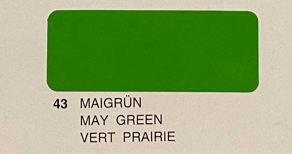 Oracover couleurs standard vert prairie 43