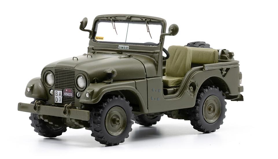 ACE collectors edition Willys Jeep M38A1 offen en Résine 1:43
