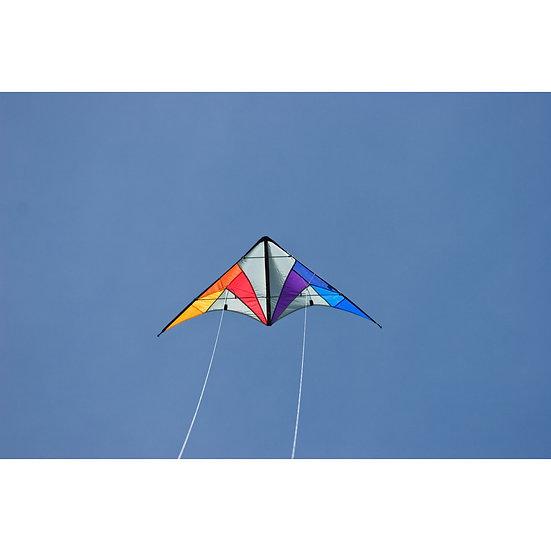 Cerf Volant acrobatique dirigeable QUICK STEP II Rainbow