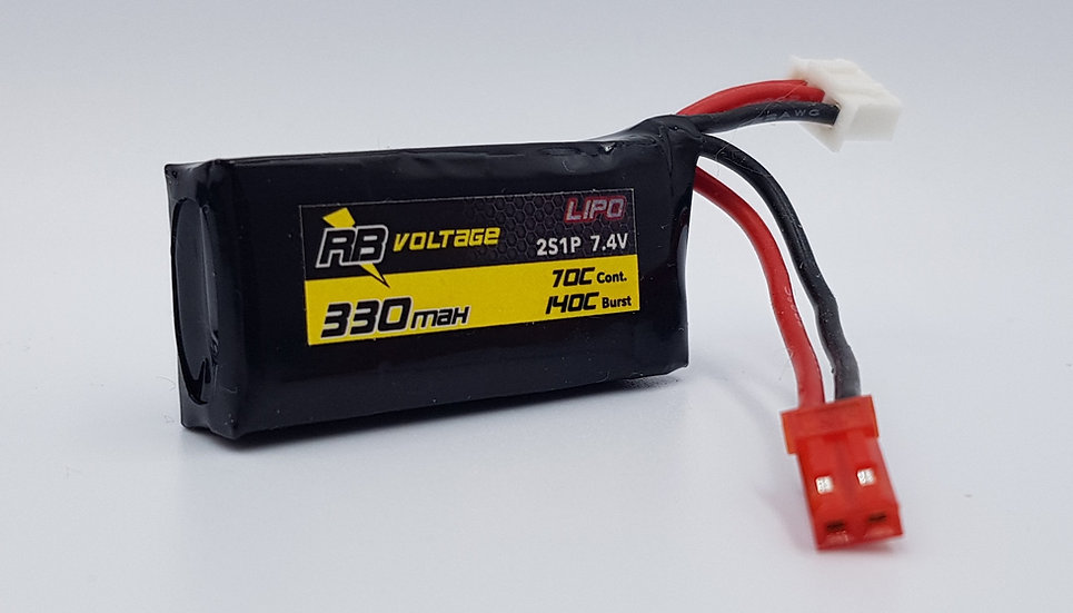 RB Voltage LiPo 330mAh 2S 70C