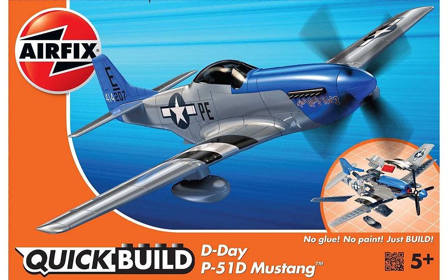 Airfix D-Day P-51D Mustang QUICK BUILD