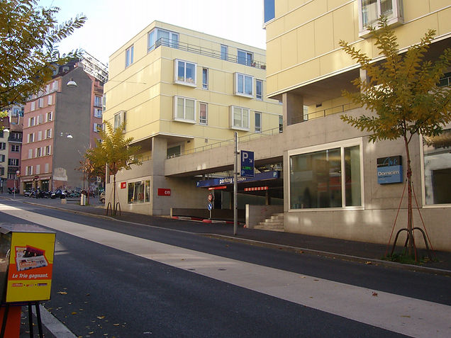 parking rotillon rue centrale lausanne