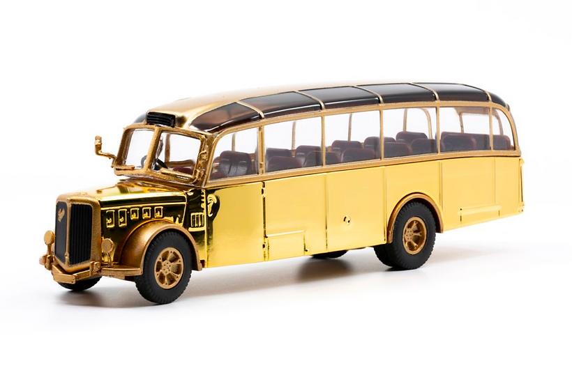 ACE collectors edition Saurer L4C Alpenwagen Limited Edition Gold en Métal 1:87