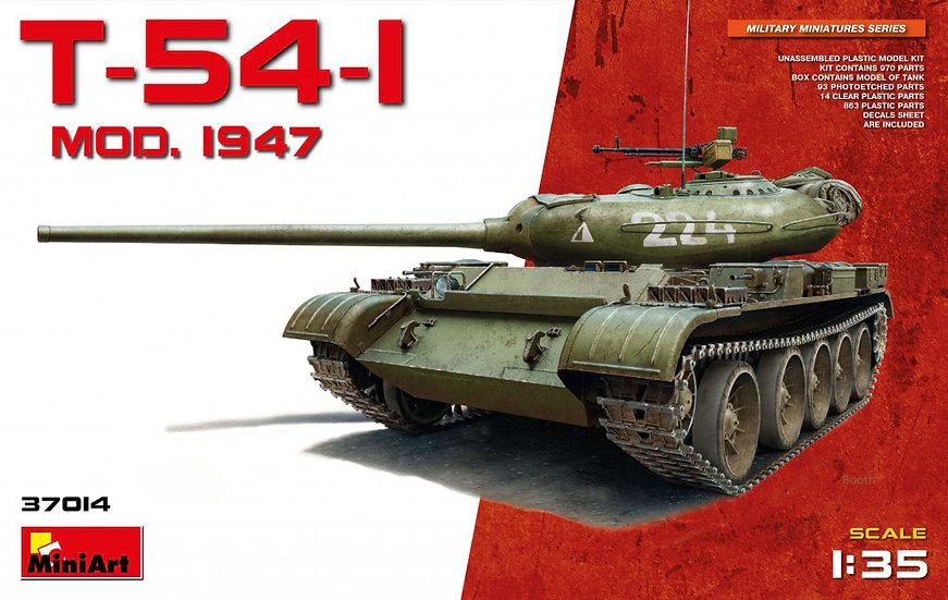 MiniArt T-54-1 SOVIET MEDIUM TANK Mod. 1947 1/35