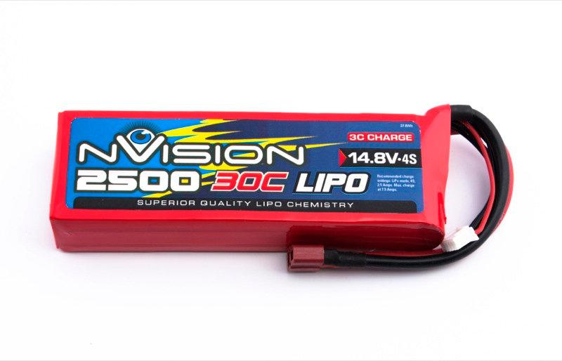 nVision Li Po 4s 14,8V 2500 30C