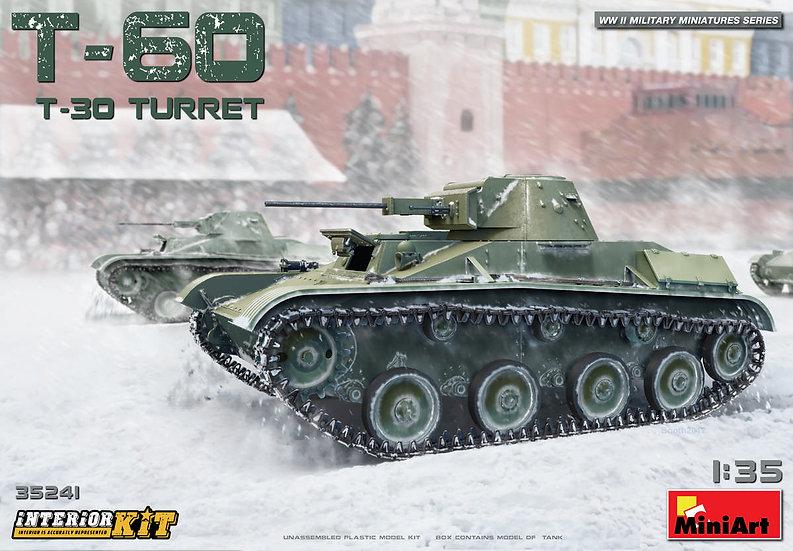 MiniArt T-60 T-30 TURRET 1/35 MIN35241