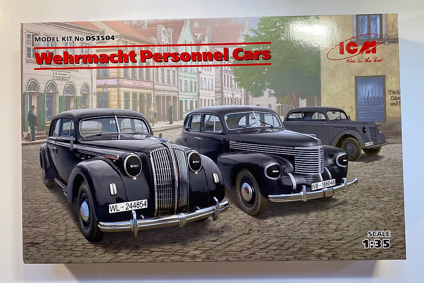 ICM Wermacht Personnel Cars 1/35 ICMDS3504