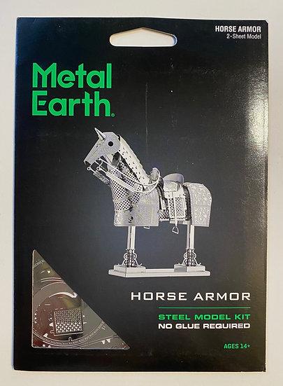 Metal Earth Horse Armor