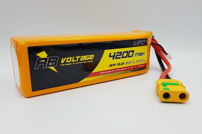 RB Voltage Li Po 4200mAh 6S 50C