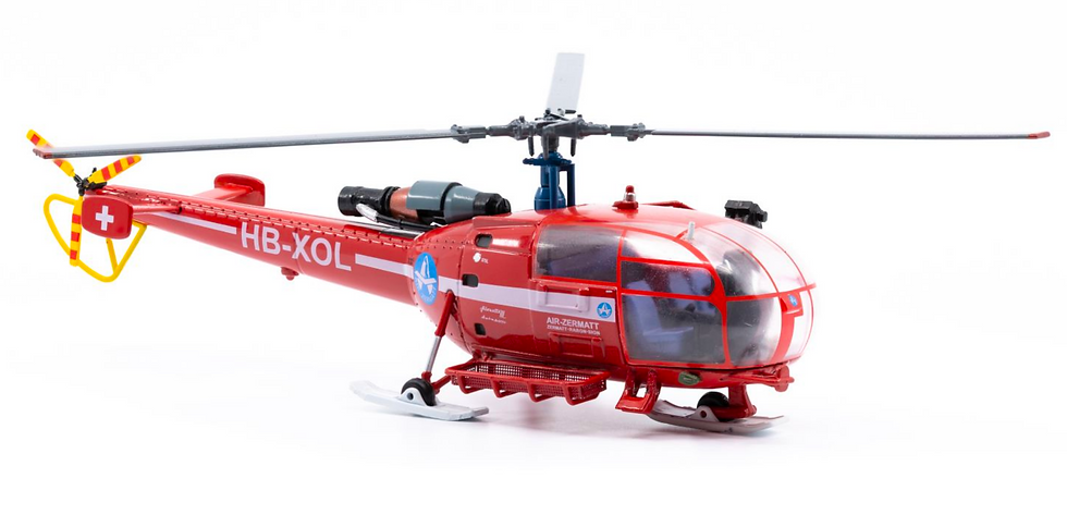 ACE collectors edition Alouette HB-XOL 1:72