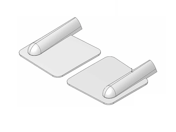 Multiplex Cache-Servo avec bossage plastique injecté (2 pièces) 724382