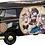 "Hasegawa Volkswagen type 2 delivery van ""Egg Girls Steampunk"" 1/24"