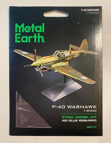 Metal Earth P-40 Warhawk