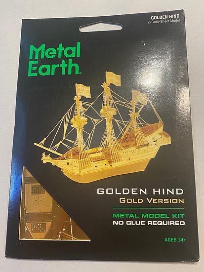 Metal Earth Golden Hind