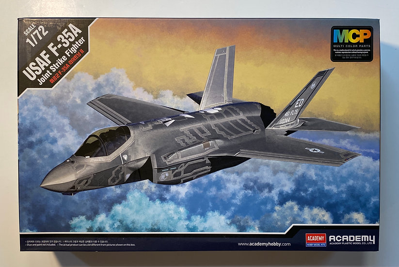Academy USAF F-35A Joint Strike Fighter 1/72 12507