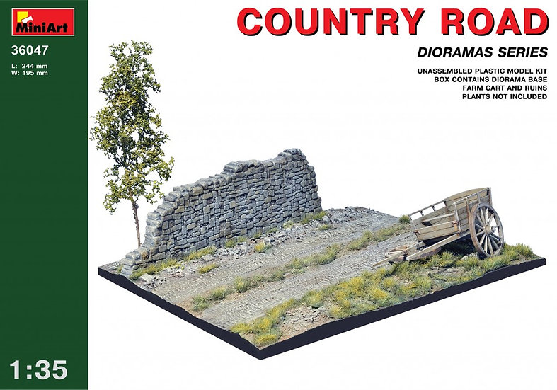 MiniArt COUNTRY ROAD 1/35
