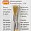 Proxxon Brosses en forme de pinceau en fil de laiton 8 mm, 2 pces