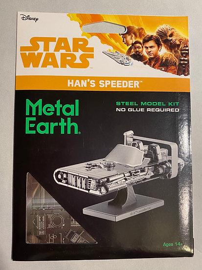 Metal Earth Star Wars Han's speeder