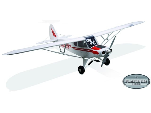 Avion E-flite Super Cub-Platinium 25e ARF 1,73m 110-EFL4625