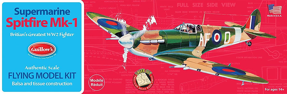 Guillow's Supermarine Spitfire Mk-1