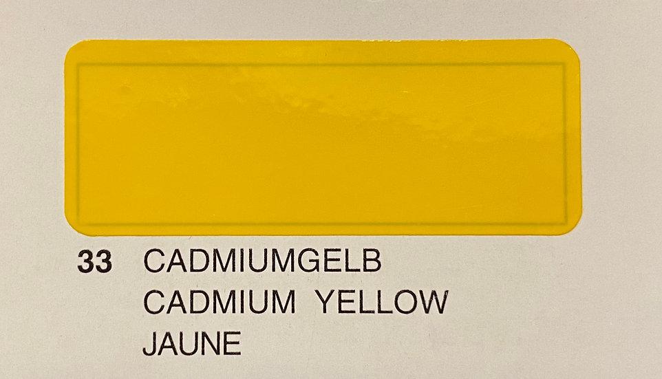 Oracover couleurs standard jaune 33