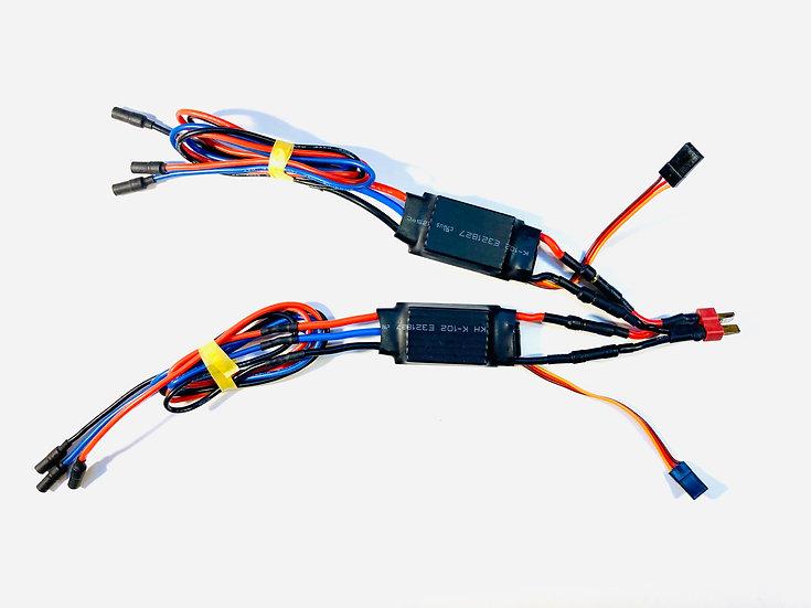 Régulateur pour bi moteur ou drone