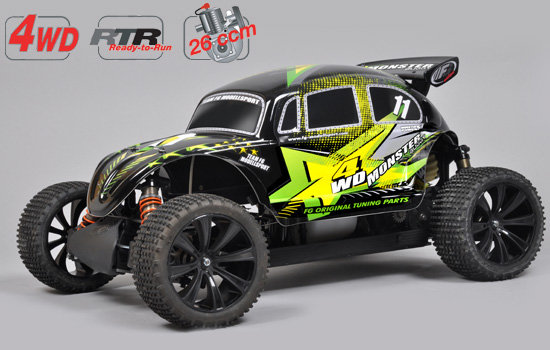 FG Modellsport Buggy 1:6 thermique Monster Buggy RTR 4WD 540070R