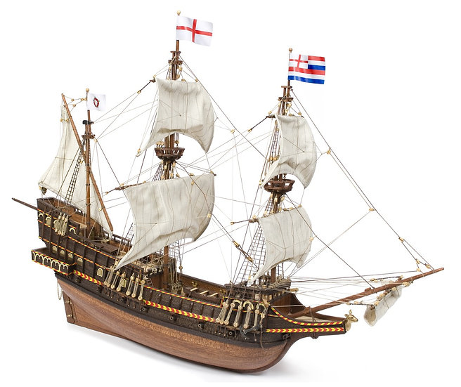 Maquette bateau bois Golden Hind Technic Hobby lausanne