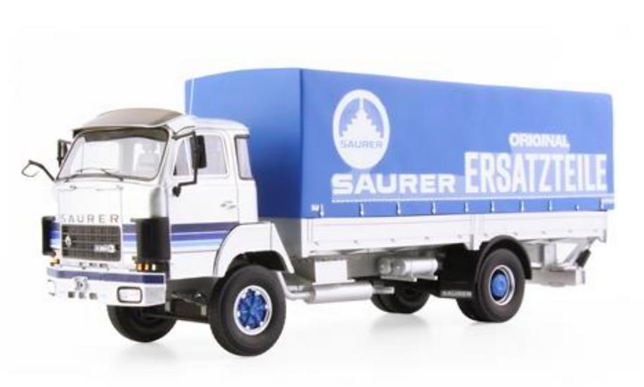 ACE collectors edition Saurer D250B F4x4 Pritsche-Plane en Résine 1:43