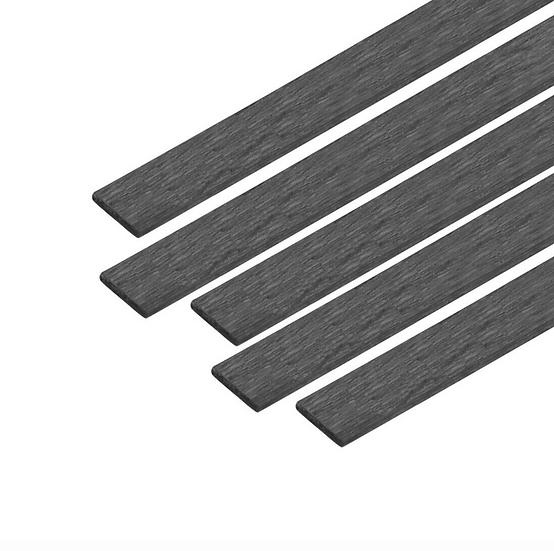 Plat carbone 3x0,6mm