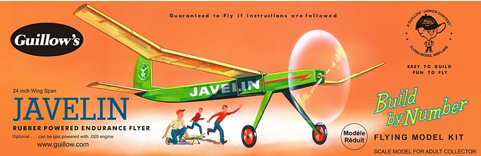 Guillow's Javelin