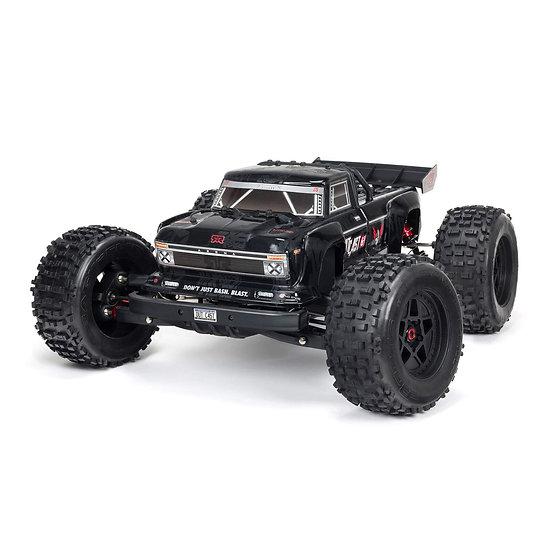 Arma 1/8 OUTCAST 6S BLX 4WD EXtreme Bash Stunt Truck RTR, Black ARA8710