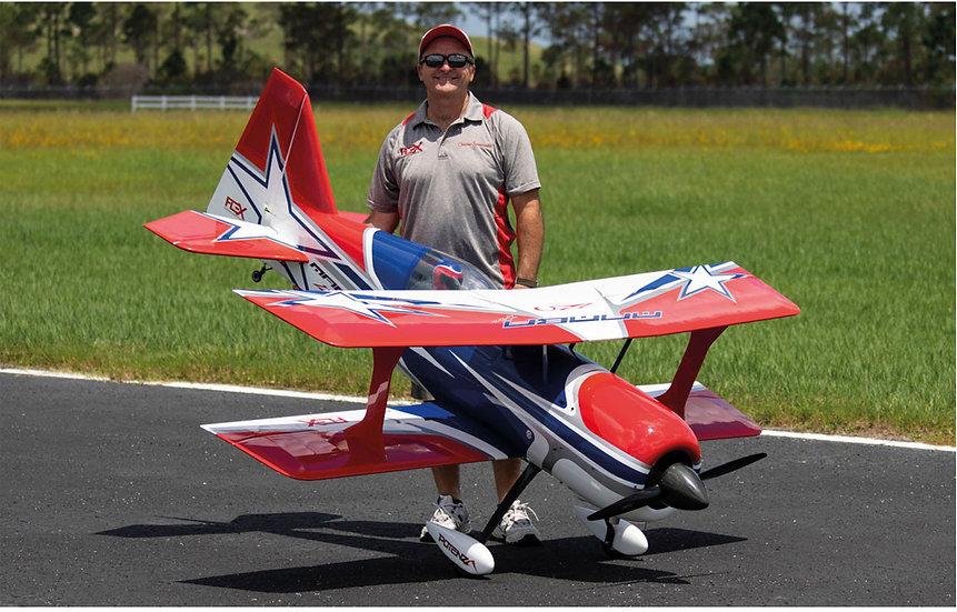PREMIER AIRCRAFT Mamba 120CC bleu ARF