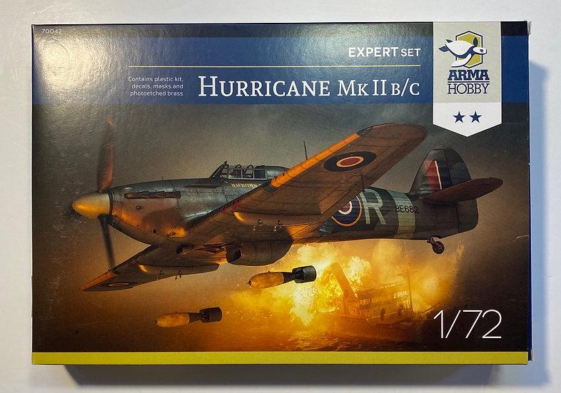 Arma Hobby Hurricane MkII B/C 1:72 ARH70042
