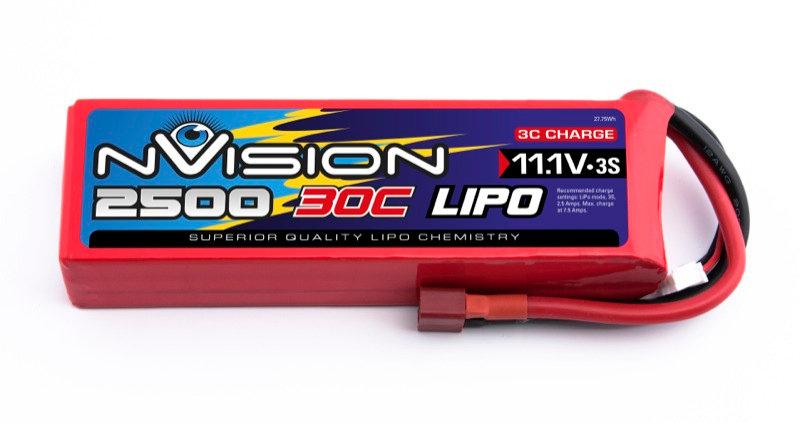 nVision Li Po 3s 11,1V 2500 30C
