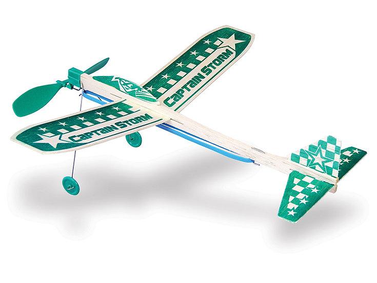 Guillow Captain Storm avion
