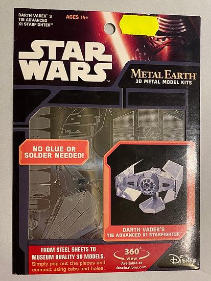 Metal Earth Star Wars Dv tie fighter