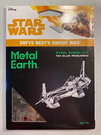Metal Earth Star Wars Enfys Nest's Swoop Bike